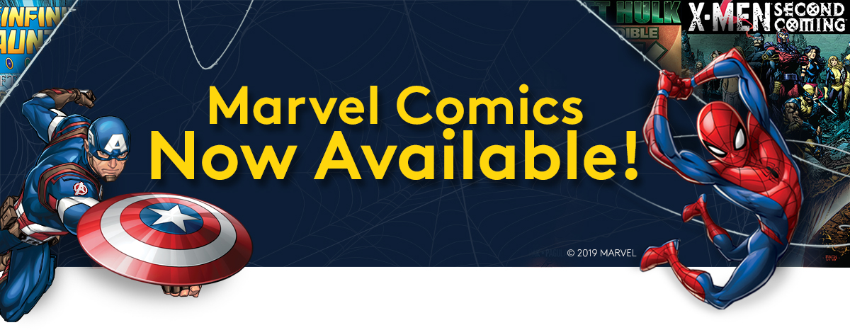 From Asgard to Wakanda: Marvel Comics now available on