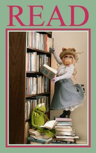 Muppets Read poster
