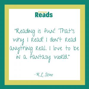 R.L. Stine Everyone Reads