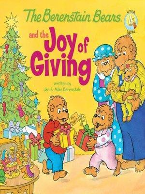 berenstain bears joy of giving on overdrive