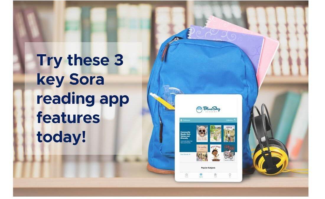 sora reading app features