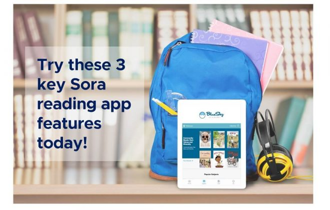 sora reading app features
