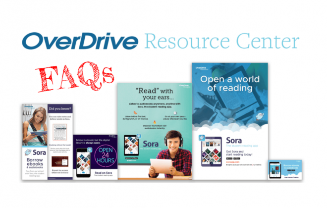 OverDrive resource center FAQs