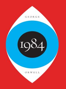 1984 by george orwell cover