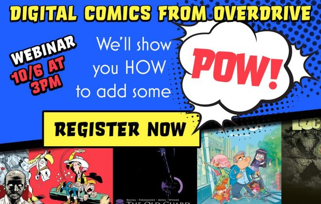 digital comics from overdrive webinar header