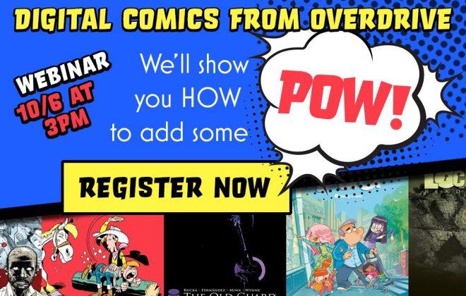 digital comics from overdrive webinar header