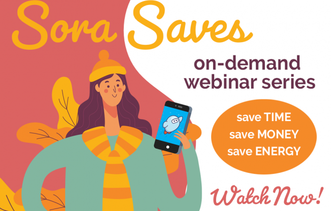 watch now: sora saves time money energy webinar series feature image