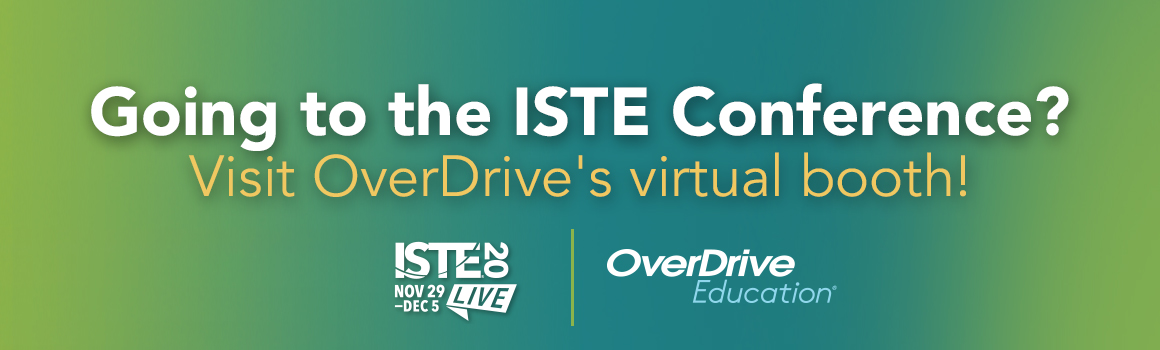 visit overdrive at ISTE 2020 banner ad