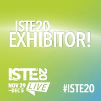 #ISTE20 exhibitor icon