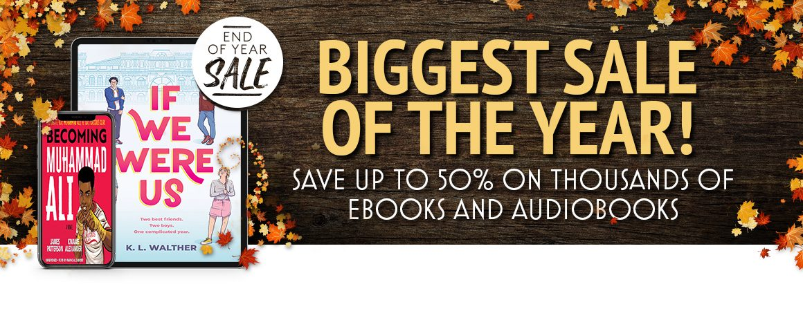overdrive end of year sale CTA - shop biggest sale of the year now