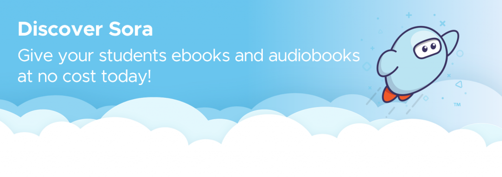 discover sora banner get free ebooks and audiobooks