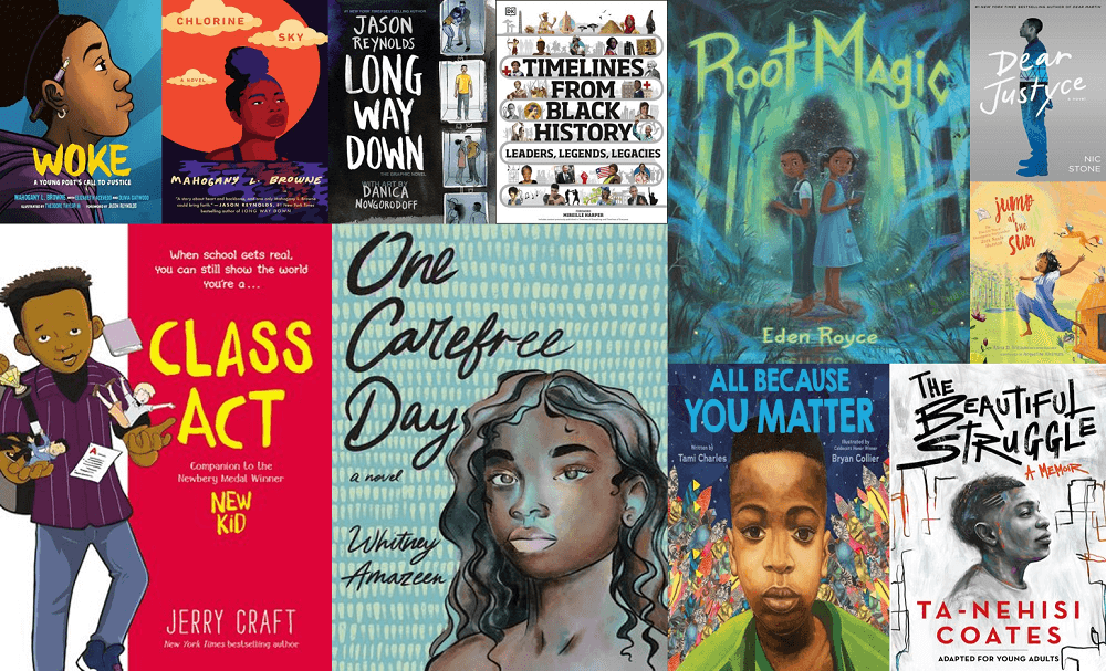 title collage black history month and every month recommendations