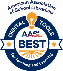 link to AASL best digital tools for teaching and learning list 2021