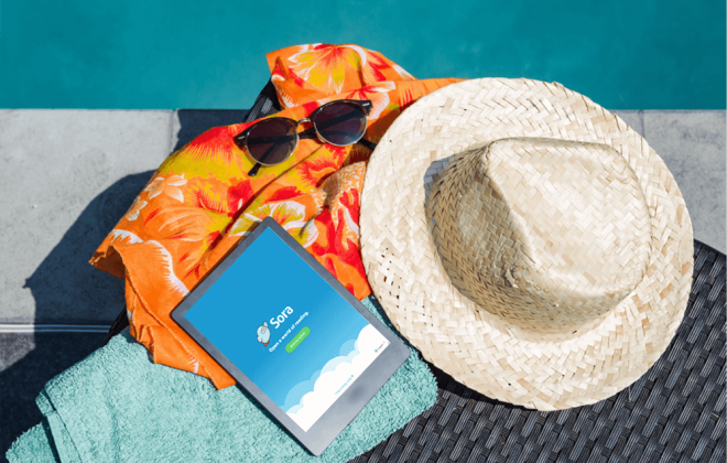 poolside professional development with the sora app feature image