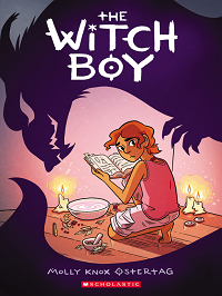witch boy graphic novel cover scholastic