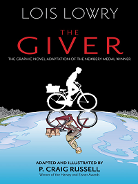 the giver graphic novel cover