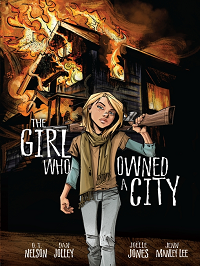 the girl who owned a city graphic novel edition cover