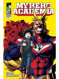 my hero academia volume 1 manga cover