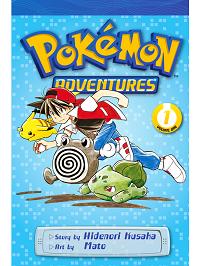 pokemon adventures volume 1 manga cover