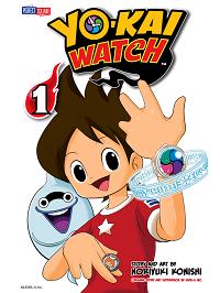 yo-kai watch volume 1 manga cover
