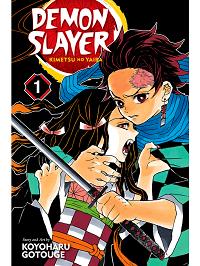 demon slayer kimetsu no yaiba volume 1 manga cover
