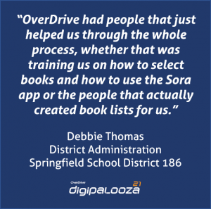 debbie thomas digip quote box about overdrive